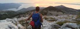 Darko hiking in Orebic